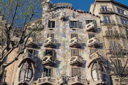 Recorrido por varios edificios míticos de Gaudí