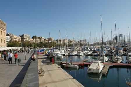 Les Rambles, @Barrio Gótico de Barcelona,@Port Vell y Parque de la Ciutadella