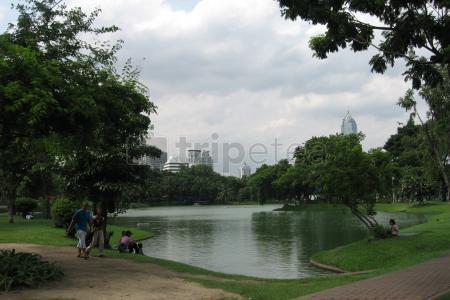 Tercer dia: Relax en el parque Lumpini para terminar el viaje.