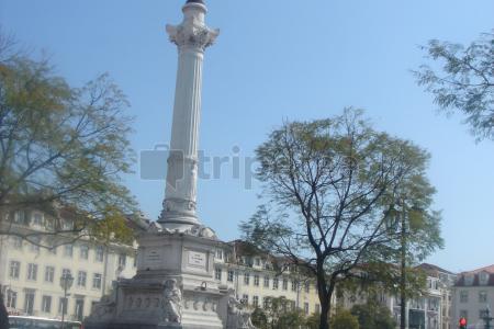 Primer dia por @Lisboavisitando elCastillo de San Jorge, la Catedral de Lisboa, el barrio de Alfama, la Plaza del Rossio, y por último la Plaza Marqués de Pombal