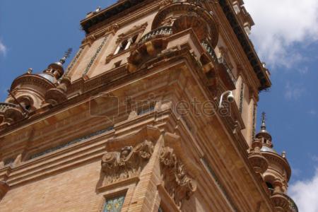Itinerario del primer dia en @Sevilla, conociendo la ciudad