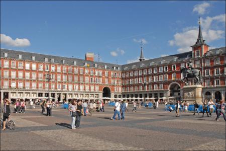 Primer dia por @Madrid