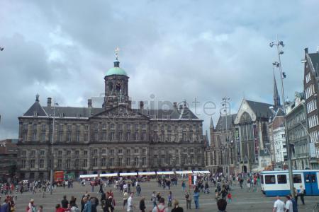 Día 1 Llegamos a @Ámsterdam:@Dam Square,@Nieuwe Kerk, Casa de Ana Frank, @Kalverstraat Shopsy finalmenteBarrio Rojo y Canal Oudezijds Voorburgwal