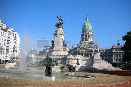 Dia 2:@Avenida de Mayo, Plaza del Congreso, @Teatro Colón, Plaza de San Martín y acabando en la casa Carlos Gardel