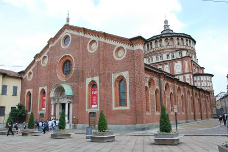 Segundo dia, las últimas vistas de Milán:Cementerio Monumental de Milán, @Santa Maria delle Grazie,Basílica de San Ambrosio y el Museo Arqueológico para finalizar.