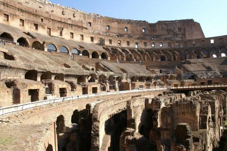 Primer dia, recorriendo la Antigua Roma