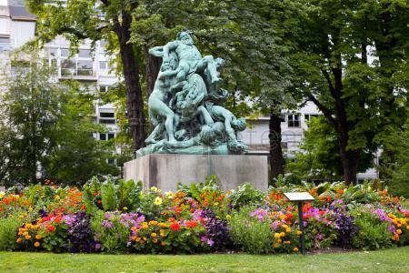 Ruta día 1:@Panteón de París, Jardines de Luxemburgo, Las Catacumbas y el Jardín de las Plantas