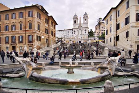 @Ciudad del Vaticano, @Plaza Navona, @Panteón de Agripay@Piazza Di Spagna