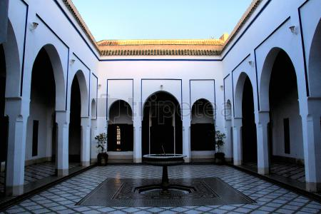 Itinerario del segundo dia en @Marrakech