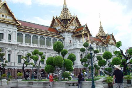 Primer día: Palacio Real de Bangkok, @Wat Pho, @Wat Arun, @Chinatown