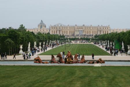 Pasando el tercer día por el@Palacio de Versalles