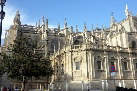 Segundo y último día visitando:Catedral de Santa María, @Archivo General de Indias, Real Alcázar,Plaza de Toros La Maestranza y Basílica de Santa María