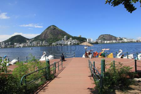 Recorriendo las playas de Río a bici y descansando en Lagoa Rodrigo