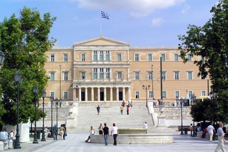 Acabando el viaje en Atenas por la Plaza Sintagma, la calle Ermou y el Jardín Nacional