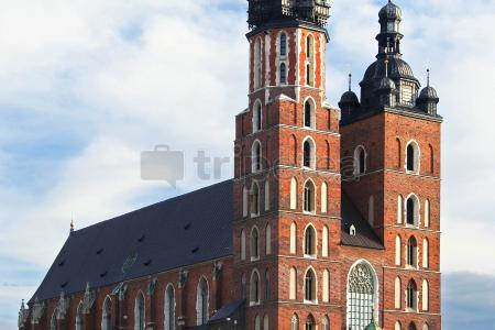 Plaza del Mercado y las principales iglesias de Cracovia