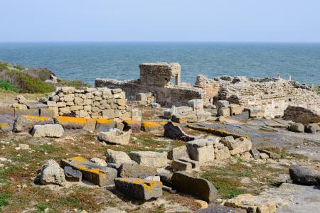 Pueblo de@Bosay ruinas romanas de Tharros