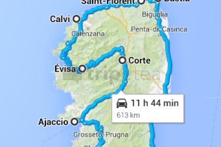 Último paseo por Porto Vecchio y hacia el aeropuerto de Bastia