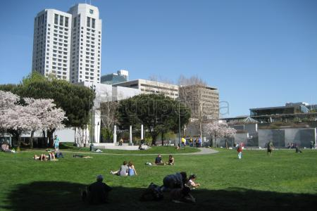 Yerba Buena Gardens - City Hall - @Grace Cathedral