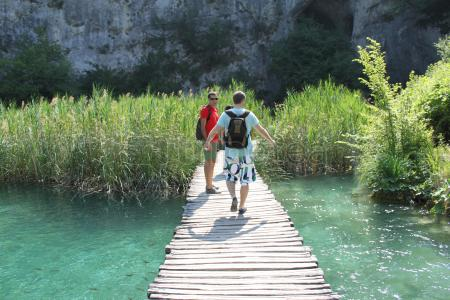 @Plitvice Lakes National Park